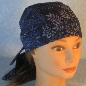 Do Rag in Blue Branches Batik-top