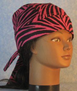 Do Rag in Pink Zebra-front