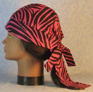 Do Rag in Pink Zebra-left back