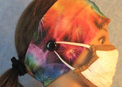 Headband Button-Black