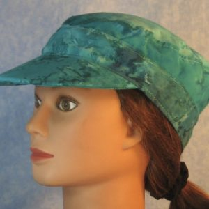 Military Patrol in Turquoise Dyed-left