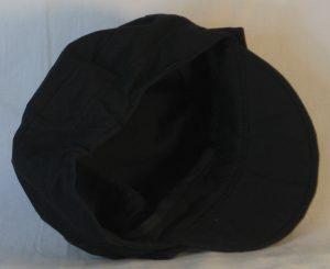Fisherman Cap in Black - inside