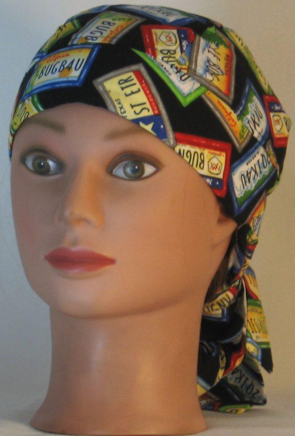 Hair Bag Do Rag in License Plates JST DUIT - front