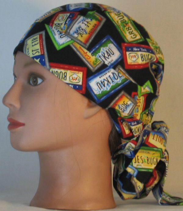 Hair Bag Do Rag in License Plates JST DUIT - left