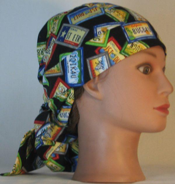Hair Bag Do Rag in License Plates JST DUIT - right