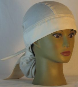 Hair Bag in Natural Nomex in HT315 - front right