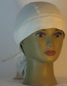 Hair Bag in Natural Nomex in HT315 - front