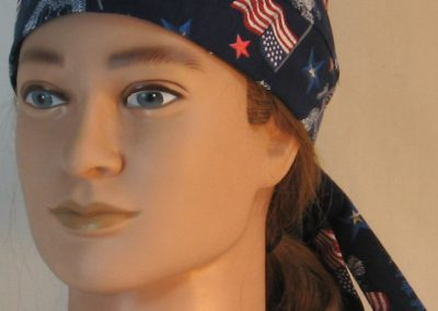 Do Rag in White Eagle Flag Home of the Brave - front