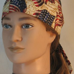 Do Rag in Big Flag with Pledge of Allegiance - front