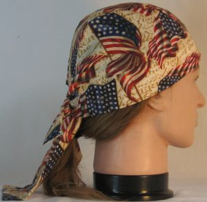 Do Rag in Big Flag with Pledge of Allegiance - right