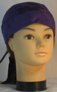 Do Rag in Purple Purple Dyed - front