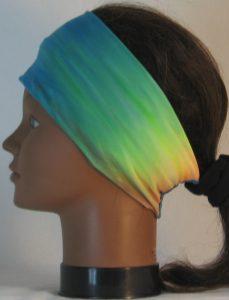 Headband in Pastels Tie Dye Veneccia - left