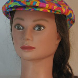 Ivy Flat Cap in Pastel Targets Overlapped - front