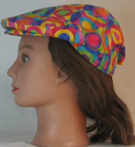 Ivy Flat Cap in Pastel Targets Overlapped - left