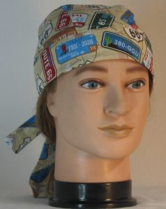 Do Rag in Route 66 with License Plates - front
